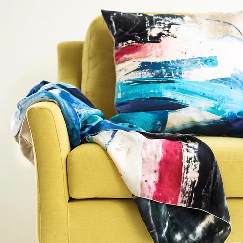 """SEASCAPE"" CUSHION"