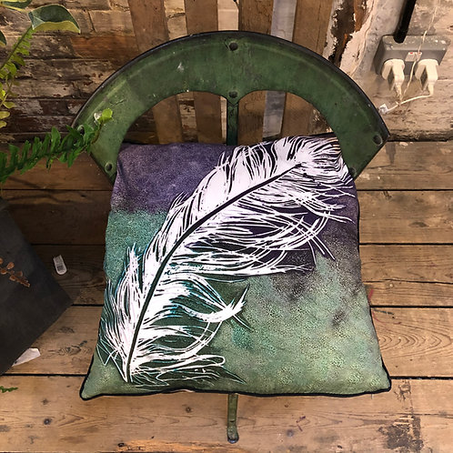 """FLORA"" FEATHER CUSHION"