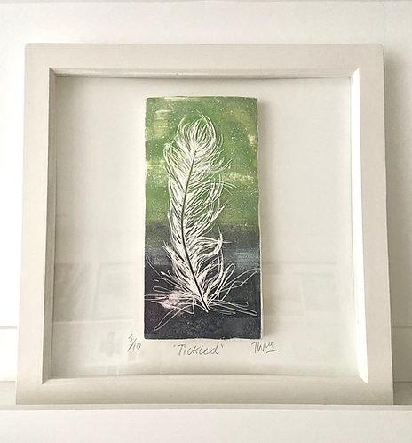 """Feather"" Fine art scarves print"