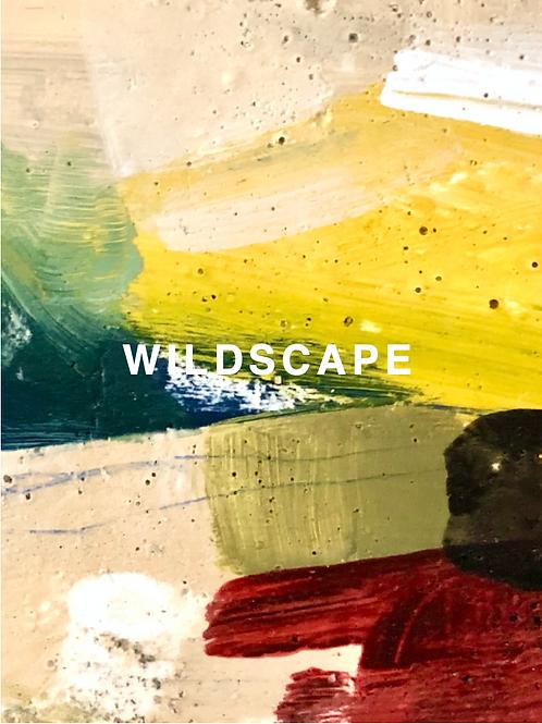 """WILDSCAPE"" LARGE SILK SCARF"