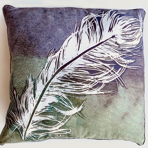 """""""FLORA"""" FEATHER CUSHION COVER"""