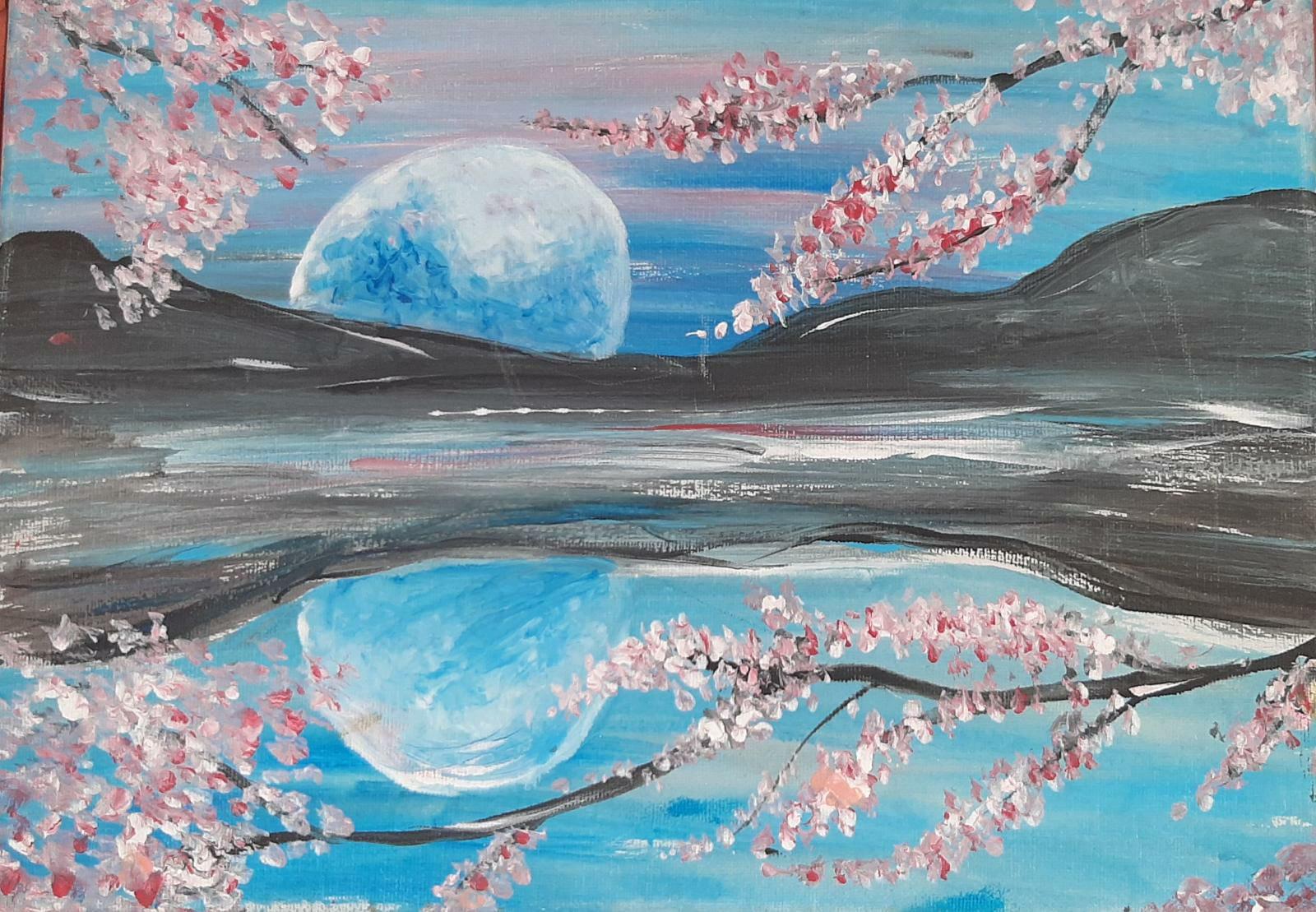 Reflective Moon