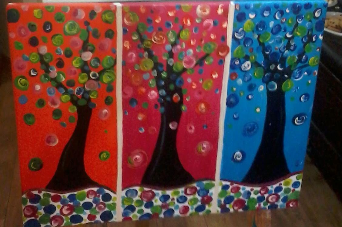 Trees in Three Seasons