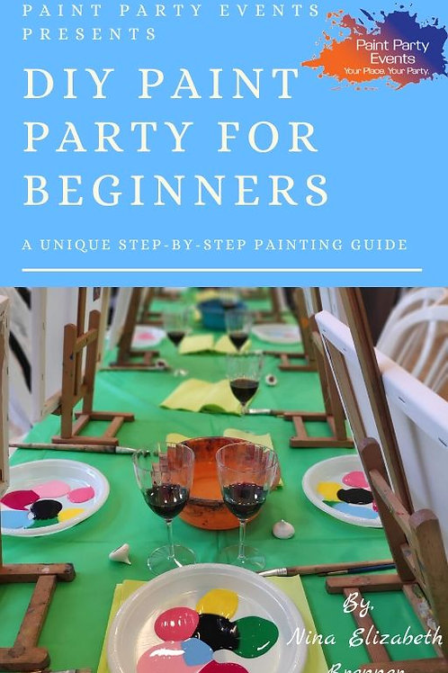 DIY Paint Party for Beginners-Hard Cover