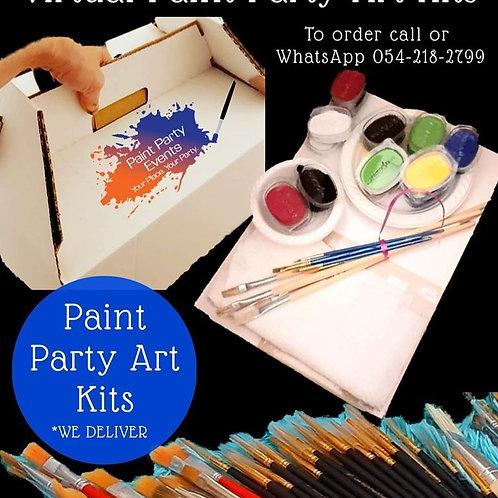 Standard Paint Party Art Kit