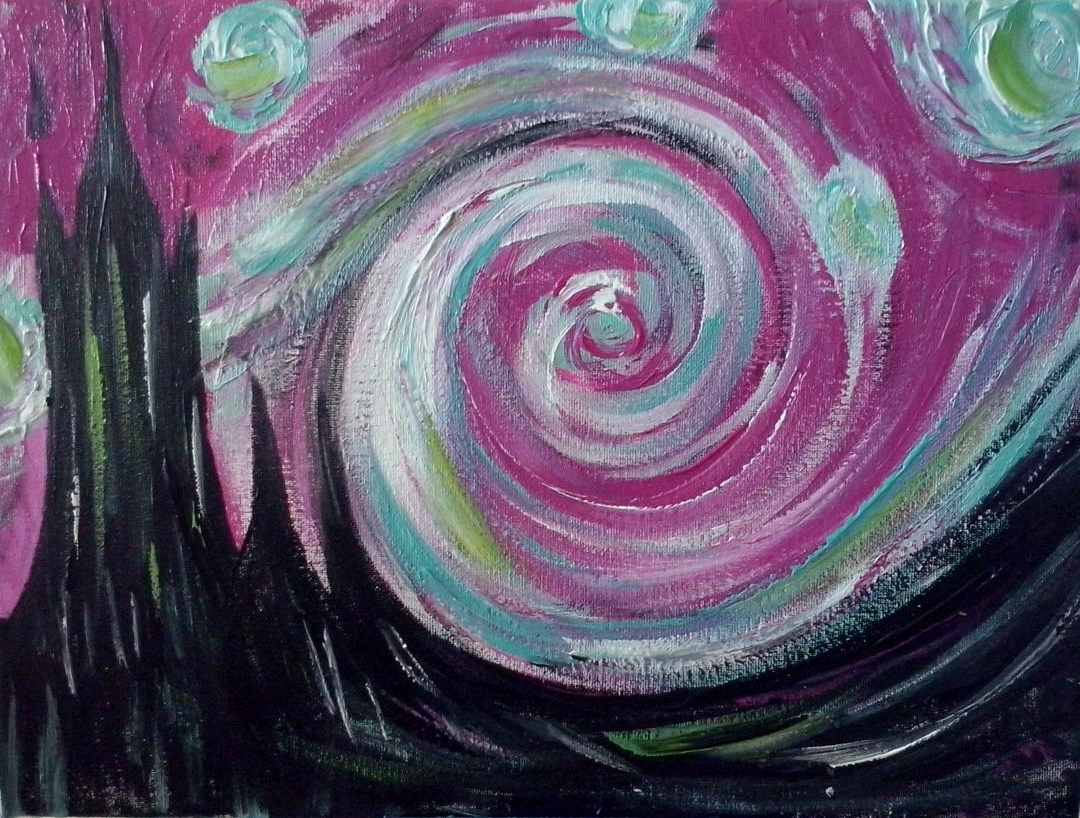 "A ""Swirly"" Night"