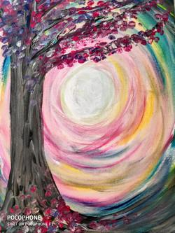 Colorful Sun Tree