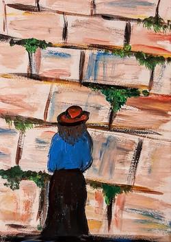 Woman at the Kotel