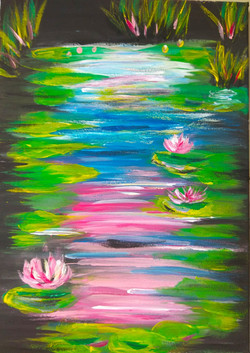Lilly Pads on Water