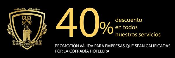 Cofradía Hotelera, descuento marketing digital