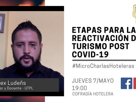 ETAPAS PARA LA REACTIVACIÓN DEL TURISMO POST COVID-19