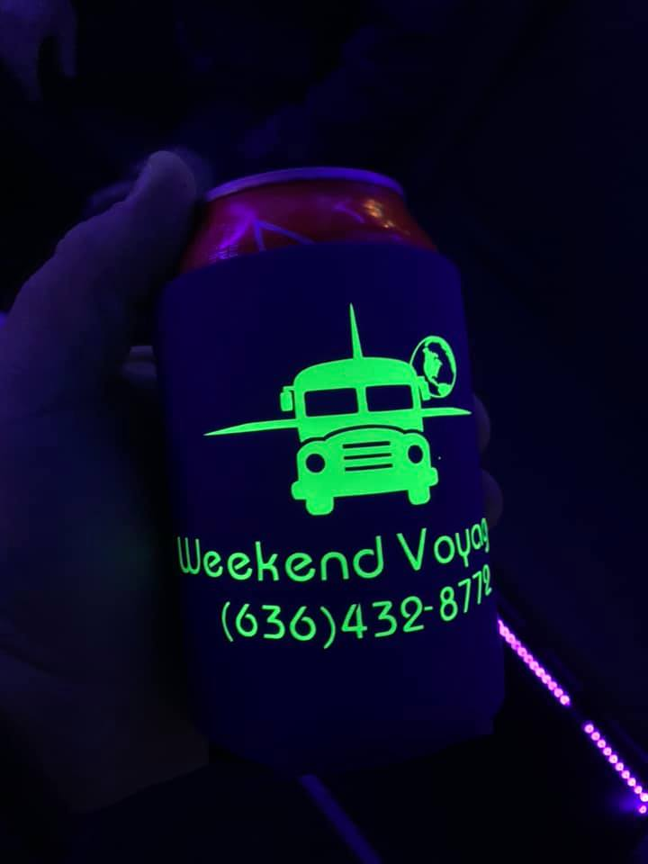 Koozie Included