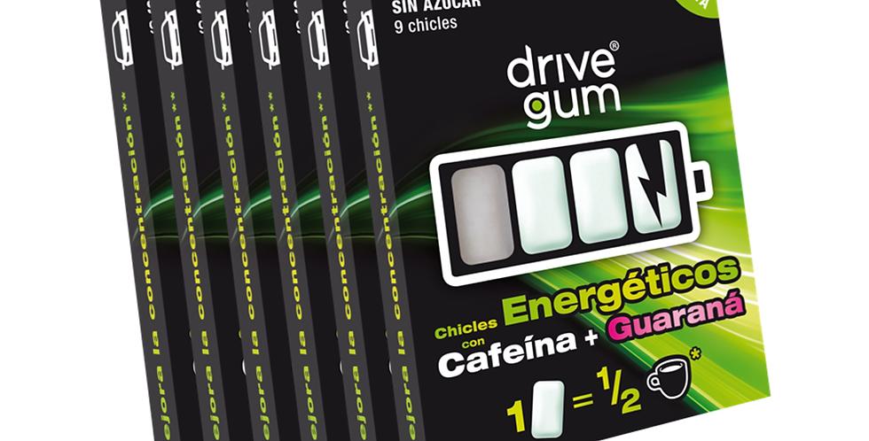 6 x paquetes DRIVE GUM