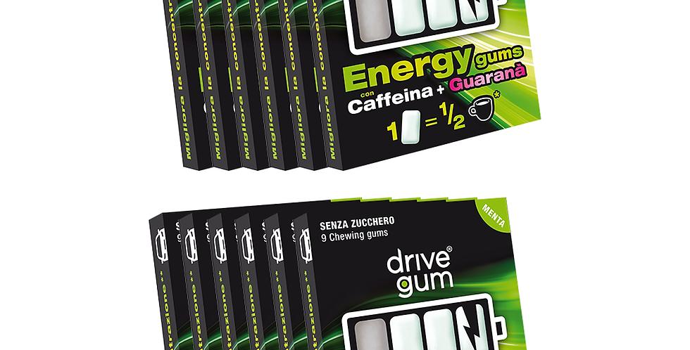 12 pacchetti DRIVE GUM