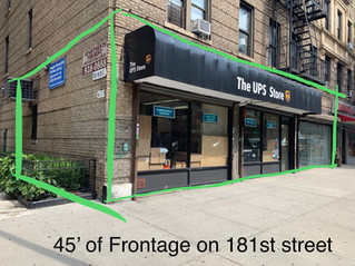 LEASED: West 181st Street