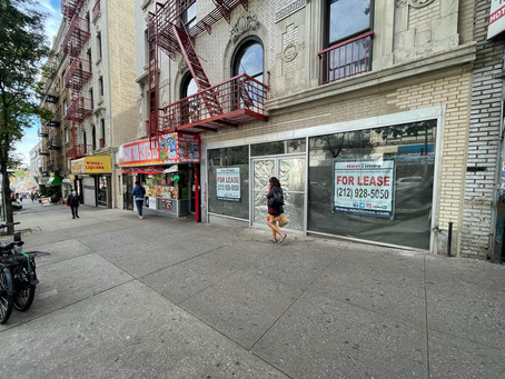 720 West 181st St. Washington Heights 1900sf @  $12,500 monthly