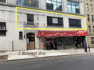 LEASED: 2 Bennett Ave.