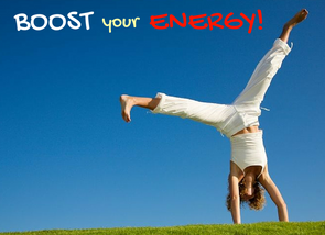 September news - want to increase your energy?  READ THIS!