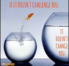 The challenge of change...
