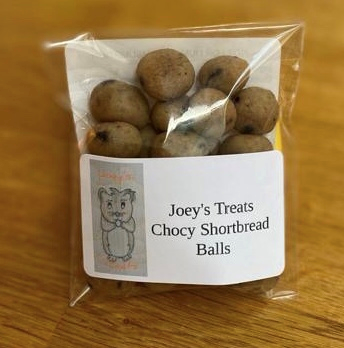 Chocy shortbread balls