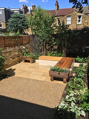 Hither Green Garden After