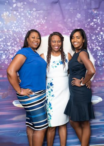 Mme Treasurer and family