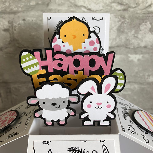 Happy Easter Box Card