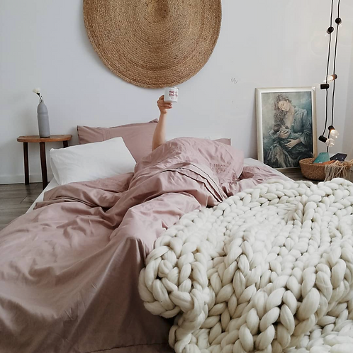 Medium Merino Blanket (110 x 140 cm)