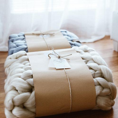 XXL Merino Blanket (200 x 200 cm)