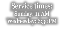Service Times Footer.png