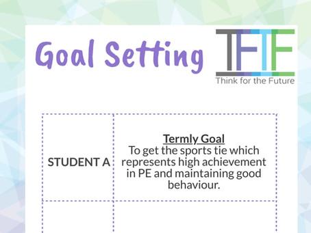 Goal setting for school engagement