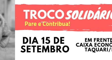 Troco Solidário – 15/09/2018