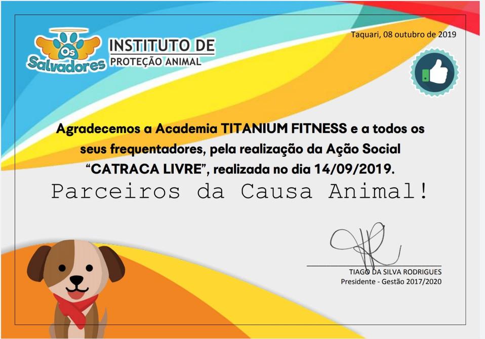 Academia Titanium Fitness