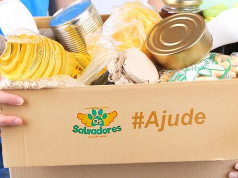 ONG SALVADORES participa de projeto de arrecadação de alimentos para necessitados