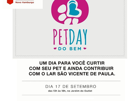 Pet Day do Bem, no Fashion Outlet – NH