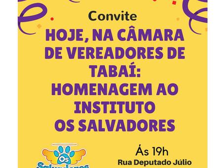Convite; SESSÃO DE HOMENAGEM