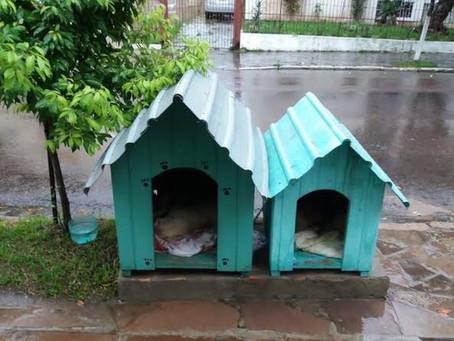 Proibida a retirada das casinhas no Bairro Jardim do Salso em PORTO ALEGRE/RS