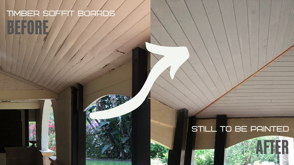Verandah Ceilings - Timber Soffit Boards