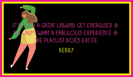 A lovely reveiw from Kerry