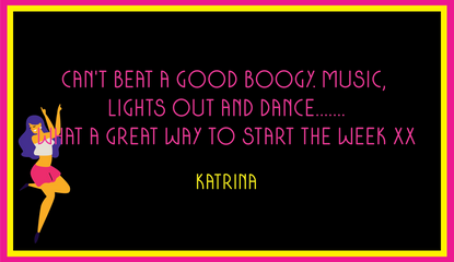 Katrina's Lights Out And Dance Review