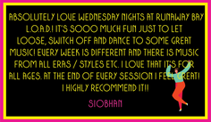 Siobhan's lovely review
