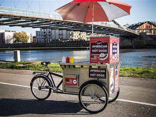 """Gastrobike: Hot dog Fahrrad """"Kristoff"""""""