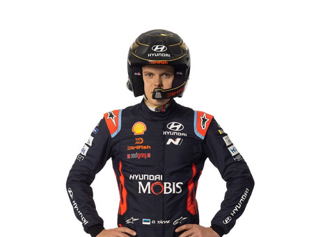 DirtFish and World Rally Champion Ott Tänak Join Forces for 2020