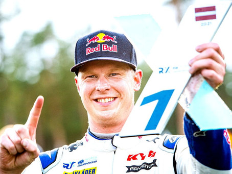 """""""KRISTOFFERSSON LIGHTS UP TITLE FIGHT IN LATVIA WITH FIRST VICTORY OF SEASON"""""""