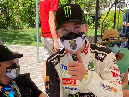 SOLBERG'S ADVICE TO SON OLIVER FOR ASPHALT RALLYING DEBUT