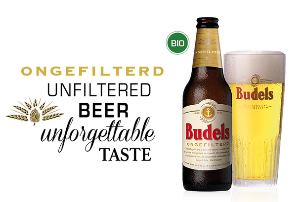 Budels Bier Ongefilterd Biologisch