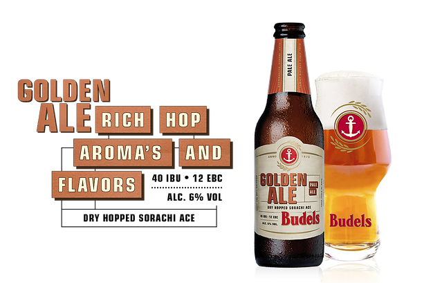 Budels Bier Golden Ale