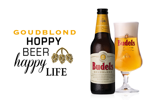 Budels Bier Goudblond