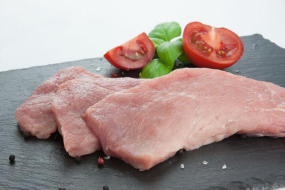 Bio Schnitzel, Schwein