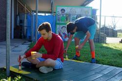 Camp Hope work